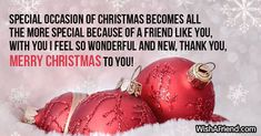 Christmas Messages for Friends Christmas Messages For Friends, Merry Christmas To You, Social Networks, First Love, Special Occasion, Feelings, Text Posts, First Crush, Puppy Love