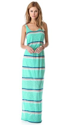 Hermosa Striped Maxi Dress