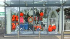 Marine equipment window display April 2015 Home And Garden Store, Window, Display, Building, Diy, Inspiration, Biblical Inspiration, Billboard, Bricolage