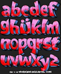 Image of Graffiti Font - Requiem