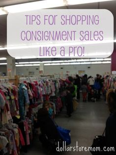 my tips for getting great clothes at great prices at consignment sales without getting frazzled!