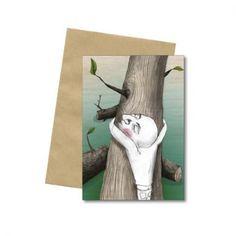 Bob Noon - card - by Anna Jacobina Illustration Art, Illustrations, Bookends, Anna, Bob, Artwork, Cards, Design, Decor