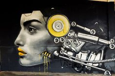 #StreetArt : Wall Art by #Dekor