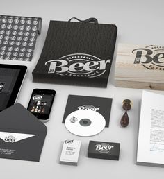 The Beer Experience by eamorim_ , via Behance