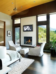 Donna's Blog: design decisions: bedroom fireplace | Zone 4 Architects, LLC