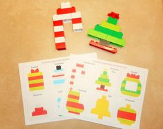 """167 Likes, 2 Comments - CraftsFunandLearning (@craftsfunandlearning) on Instagram: """"NEWEST SHOP ADDITION! These Christmas Lego Duplo Building Cards are the perfect Christmas…"""""""
