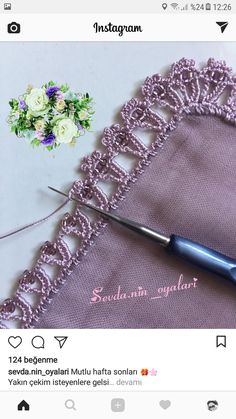 How to Crochet the Duchess Baby Blanket Crochet Boarders, Crochet Edging Patterns, Crochet Lace Edging, Crochet Motifs, Crochet Trim, Crochet Designs, Crochet Doilies, Filet Crochet, Crochet Cross