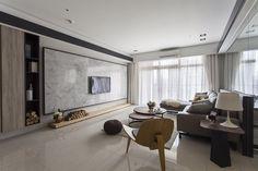 沐澄設計 Living Room Tv Unit, Luxury Living Room, Living Room Partition, Bedroom Interior, Living Room Spaces, Living Room Diy, Interior Design, Living Room Designs, Living Room Tv