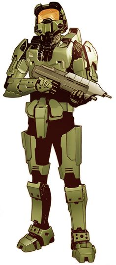 Master Chief by Jeff Spokes
