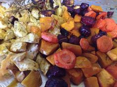 Roasted veg . With olive e oil