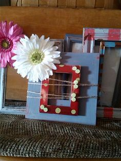 Just a few more of my repurposed frames..Create Beautiful by: Carol Penhale