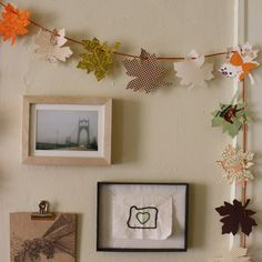 Another great leaf garland.