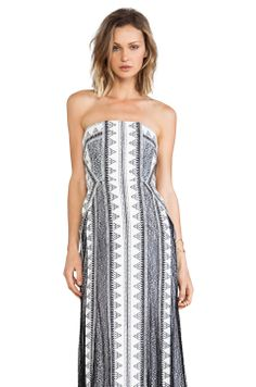 ad456f2359 BCBGMAXAZRIA Kia Dress in Off White Black Combo from REVOLVEclothing