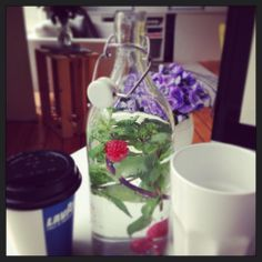 So mint in water is the best thing ever