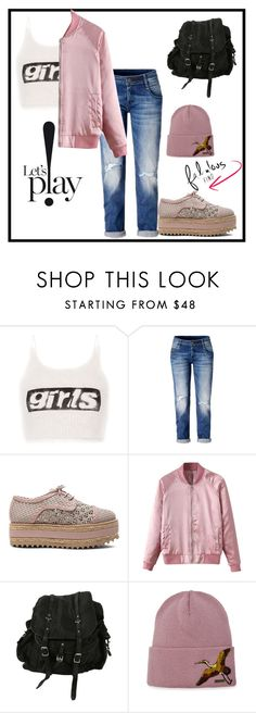 """""""It's street style but still fabulous"""" by kennystylesd ❤ liked on Polyvore featuring Alexander Wang, Zimmermann, WithChic, AllSaints and Dsquared2"""