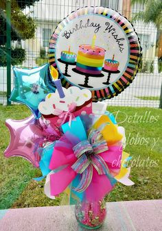 Graduación Inspirational Quotes inspirational quote of the day Best Gift Baskets, Candy Gift Baskets, Candy Gifts, Balloon Centerpieces, Balloon Decorations, Birthday Party Decorations, Candy Bouquet, Balloon Bouquet, Birthday Candy