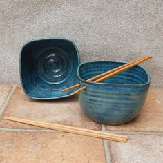 Noodle bowls .....hand thrown in stoneware pottery