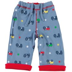 Reversible Trousers - Tractor available in sizes 0-3 months up to 2-3 years - RRP £20