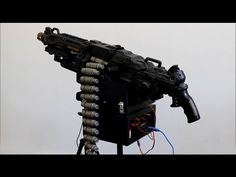 BADASS DIY Nerf Gun Turns Into An Intimidating Automatic Sentry Firearm