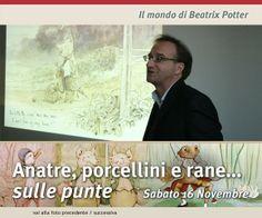 Il mondo di Beatrix Potter con Fabio Sartorelli, 16 novembre 2013