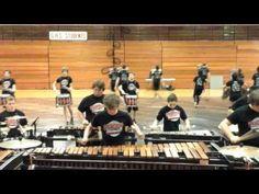 Goshen Percussion Movement Ensemble 2016 Showcase - YouTube