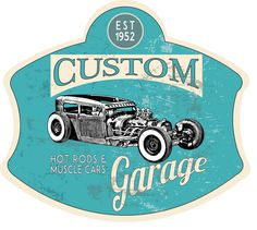 Custom Garage Custom Garages, Car Garage, Muscle Cars, Hot Rods, Carriage House, Street Rods