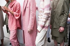 Backstage at Damir Doma SS16 - Discover more on vrients.com  #damirdoma #backstage #ss16 #mfw #milan #menswear #fashion #show #vrnts