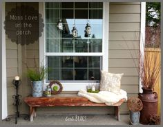 Little Brags: Moss Lovin on the Front Porch
