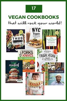 Are you in search of the best vegan cookbooks? I've been cooking vegan meals for 25 years, and these are my personal favorites. From beginner vegan recipes to gourmet plant-based meals to decadent vegan desserts, there's a little something for everyone. Great Vegan Recipes, Vegan Recipes Beginner, Chef Recipes, Cookbook Recipes, Vegetarian Cookbook, Vegetarian Recipes Dinner, Vegan Meals, Vegan Desserts, Vegan Chef