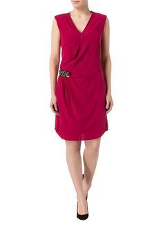 RENÉ LEZARD - Seidenmix-Kleid pink - OUTLETCITY.COM