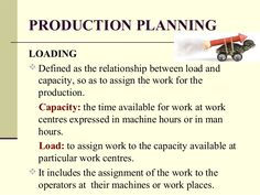 Factors Of Mrp Main Production Plan Product Tree Inventory