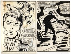 Captain America # 115 page 12  Comic Art
