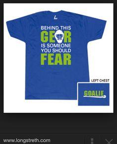 Field hockey goalie shirt