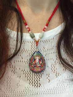 Love this wearable art feng shui  jewelry Vairocana Pendant Necklace! Wear it close to your heart to enhance the positive Feng Shui energy. Buy yours today:  http://www.explosionluck.com/collections/buy-feng-shui-pendant-necklaces-jewelry-store/products/buddha-necklace-vairocana #YogaJewelry
