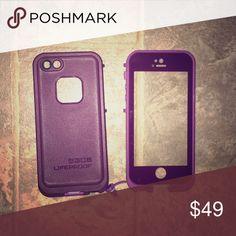 Selling this Lifeproof FRE Waterproof Case-SE-Crushed Purple on Poshmark! My username is: jadaclairep. #shopmycloset #poshmark #fashion #shopping #style #forsale #LifeProof #Accessories