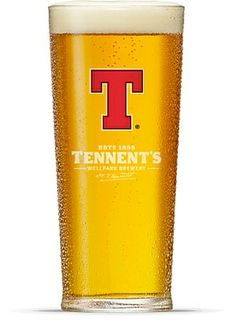 Tennents Lager ~ my new favorite!