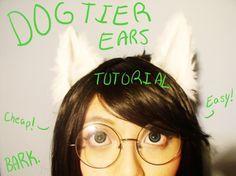 Tutorial for Dog Tier Jade ears!