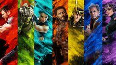 UHD 4K Thor: Ragnarok Characters 2017 Movie