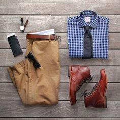 Business Casual Men - Traje Business Casual para Homens, o que é? Trajes Business Casual, Business Casual Men, Men Casual, Fashion Business, Casual Chic, Outfit Hombre Casual, Casual Outfits, Casual Attire, Mode Masculine