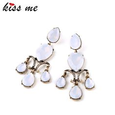 2,67€ - OL Style Romance Vintage Party Women Bijoux Tide Argenon Earrings Factory Wholesale - ShiJie Jewelry Factory