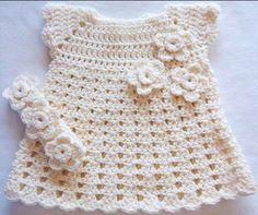 örgü bebek elbise modelleri (11)