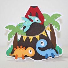 Items similar to Dinosaur birthday party - dinosaur invitation, dino party, dinosaur birthday, invitations, set of 12 on Etsy Dinosaur Train Party, Dinosaur Birthday Party, First Birthday Parties, Dinosaur Cake Toppers, Dinosaur Cards, Dinosaur Invitations, Birthday Invitations, Felt Crafts, Diy And Crafts