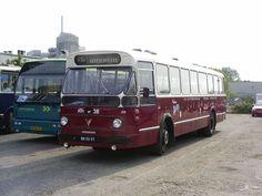 RTM, Rotterdam een Leyland de Wasbeer bus nummer 38 uit 1966 (later ZWN 4342)