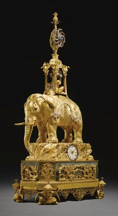 A George III paste-set ormolu musical automaton clock circa 1780, signed by Peter Torckler