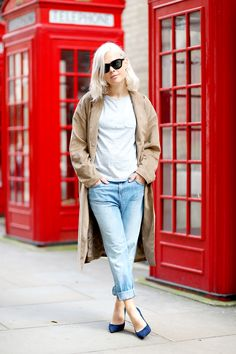 "fashion-streetstyle: "" (via Personal Style: Relaxed Basics in J Brand Jeans) """
