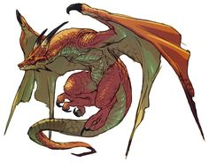 Breath of Fire IV Art & Pictures  Wyvern Dragon (Ryu)