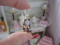 Maison de poupées miniature podding Pois préparation Board