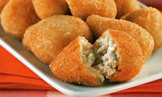 Coxinha | Community Post: 10 Typical Brazilian Food Everyone Should Try - A potato-based dough stuffed with chicken and cream cheese. Do I need to say more?