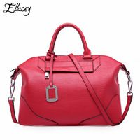 2016 European Women Real Genuine Leather Handbag Fashion Designer Shoulder Bag Famous Brand Female Casual Large Capacity Handbag