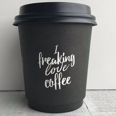 New Quotes Coffee Cup Ideas To Go Coffee Cups, Coffee Cup Art, Coffee Cup Design, Coffee Pods, Coffee Cafe, Coffee Drinks, Coffee Shop, Coffee Break, Coffee Branding
